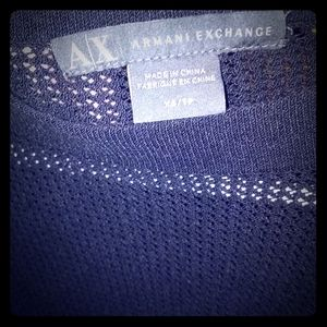 AX Armani Exchange long knit sleeve